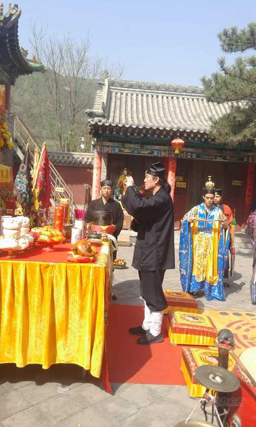山西省太原市道教协会举行书法武术文化交流会