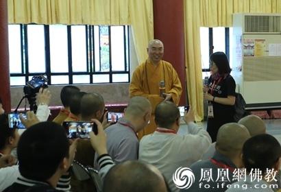 宽运法师溯源香港佛教:香港有120万佛教徒
