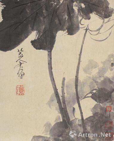 上海工美20周年庆典拍卖会唐云旧藏八大山人作品总成交2530万
