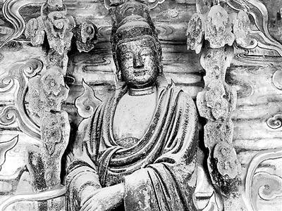 这座1500年的小庙 周总理曾指示要好好保护 ()