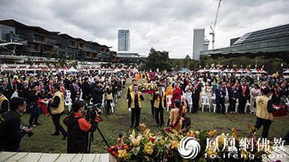 悉尼多元文化佛诞节开幕 澳洲政要出席庆典活动 ()