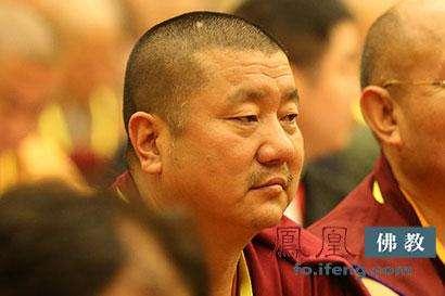 噶尔哇·阿旺桑波活佛送上浴佛节的祝福