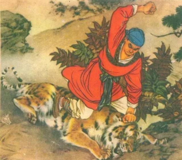 """宋朝真有一位""""打虎英雄"""" 不是武松而是擅长写诗的他 ()"""