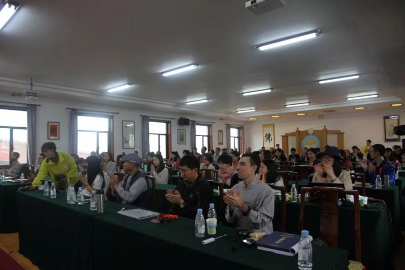 五台山佛学与东亚文化研究院暑期班闭幕_佛教-法师-东亚-研究院-竹林