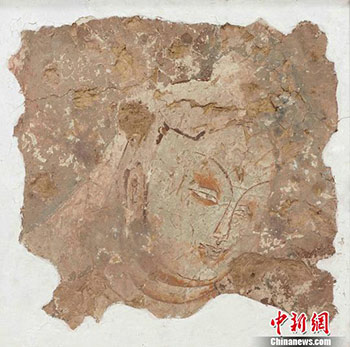 137幅流失海外的克孜尔石窟壁画高清复原 首次大规模呈现_壁画-石窟-克孜尔-洞窟-德国