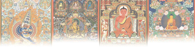 国艺传世·中国美术的世界贡献·唐卡:雪域明珠画苑奇葩_西藏-绘画-作品-绘制-一幅