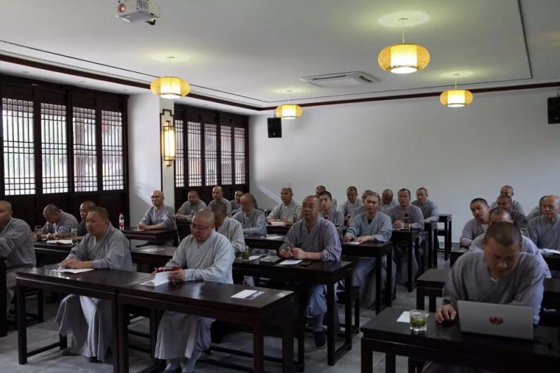 常熟市佛教活动场所第七期中青年僧才培训班圆满结束_佛教-常熟市-常熟-培训班-中青年