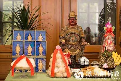 台湾南投大华严寺举行万神博览会_南投-博览会-而不-华严寺-台湾