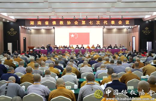 湖南省佛教协会召开第七次代表会议_佛教-统战部-宗教-协会-湖南