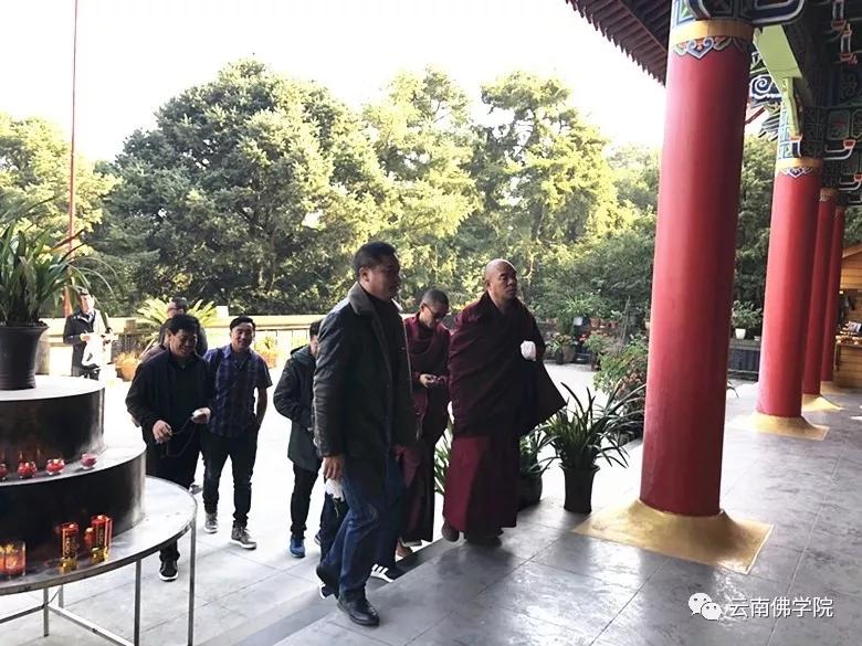 云南藏语系佛学院前往云南佛学院考察交流_云南-佛学院-藏语系-交流-学院