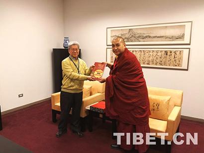 中国藏语系高级佛学院组团赴台开展宗教文化交流_藏语系-交流-台北-中国-高级