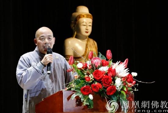 苏州市佛教居士林举办千人祈福大会_苏州市-佛教-居士-西园-致辞