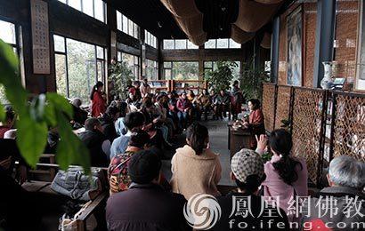 四川崇州白塔寺举办琴箫雅集活动圆满_崇州-白塔寺-流沙-雅集-佛教