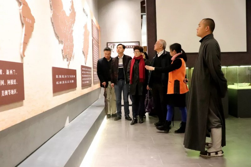 国内外文化团体到南少林寺参访交流_莆田-武术-南少林-法师-交流