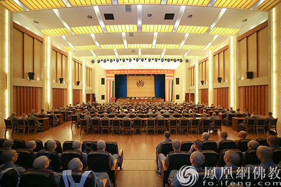 中国佛学院普陀山学院举行2019届毕业典礼_佛教-普陀山-中国-学院-法师