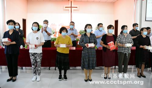 天津基督教两会举行《中华人民共和国民法典》《天津市宗教事务条例》双下乡活动启动仪式_天津市-民法典-条例-活动-条例-活动-宗教事务
