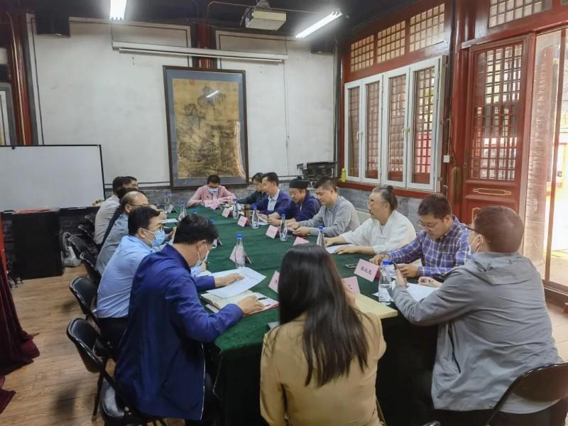 北京市文化市场综合执法总队到市道协调研宗教领域执法工作_道教-北京市-文化市场-总队-宗教